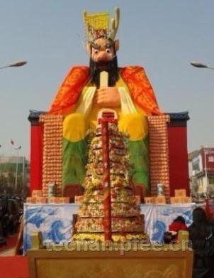 闻喜花馍世界纪录之最高龙王