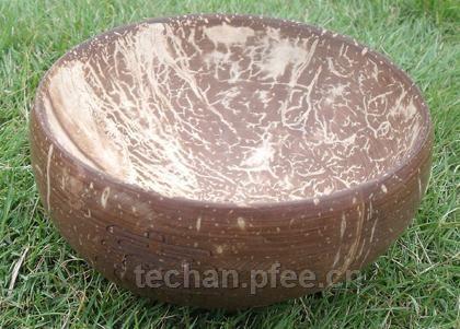 椰雕碗欣赏